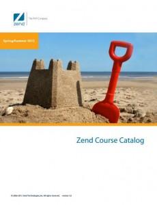 Catálogo  de Cursos da Zend